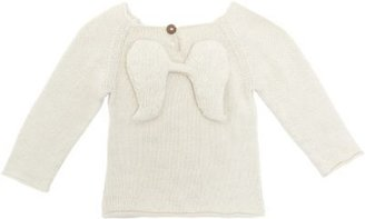 Oeuf Angel Applique Sweater