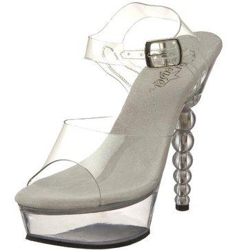Pleaser USA Women's Blossom-608 Platform Sandal
