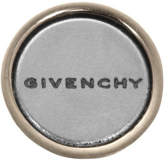 Givenchy Large Shark earring in pale gold-tone brass and Plexiglas®