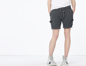 James Perse Textured Cotton Cargo Short
