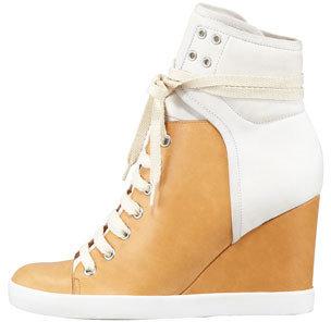 See by Chloe Colorblock Wedge Sneaker