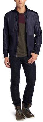 Calvin Klein Sportswear Men's Mixed Media Jacket