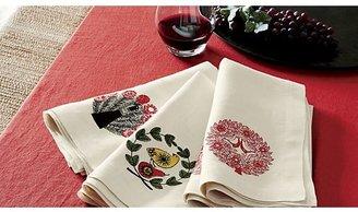 """Helena Cherry Linen 60""""x120"""" Tablecloth"""