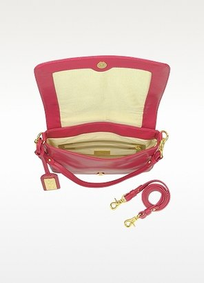Badgley Mischka Carol - Woven Leather Shoulder Strap