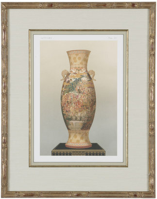 Ethan Allen Satsuma Vase Plate II
