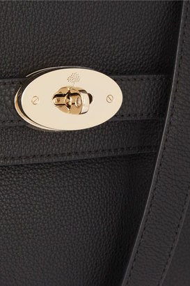 Mulberry The Bayswater Shoulder large textured-leather bag