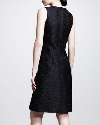Dolce & Gabbana Sleeveless A-Line Brocade Dress