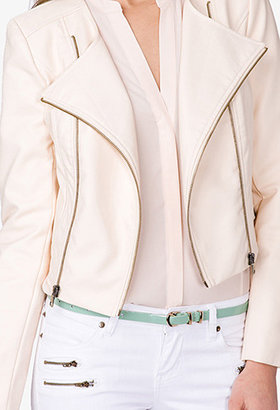 Forever 21 Charmed Moto Jacket