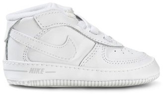 Nike White Air Force 1 Crib Shoes