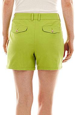 Liz Claiborne Classic Chino Shorts
