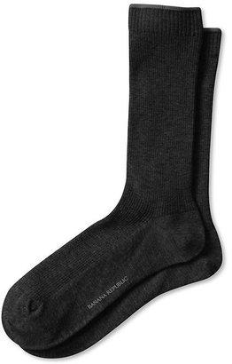 Banana Republic Rib-Knit Trouser Sock