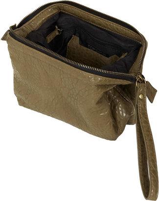 Topshop Frame Top Merino Make Up Bag