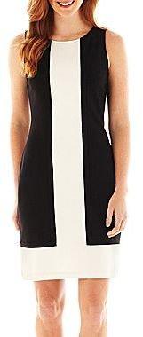 JCPenney Worthington® Sleeveless Colorblock Dress