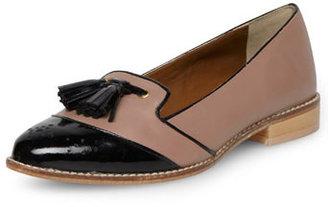 Dorothy Perkins Brogue detail tassel loafer