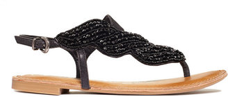 Naughty Monkey Shoes, Illusion A Symetrical Flat Sandals