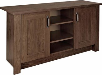 Argos Home Ohio 2 Door Low Sideboard & TV Unit-Walnut Effect