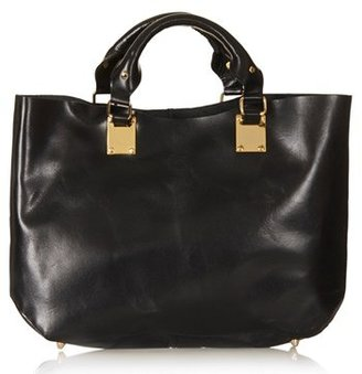 Topshop Leather Tote, Extra Large