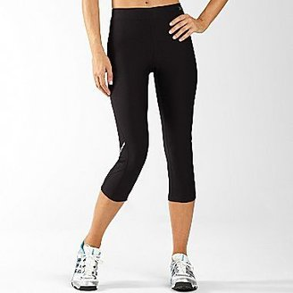 JCPenney XersionTM Reflective Running Capris Black