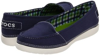 Crocs Melbourne II Short Vamp (Nautical Navy/Oyster) - Footwear