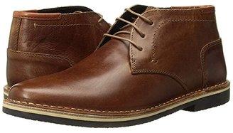 Steve Madden Harken (Cognac Leather) Men's Lace-up Boots