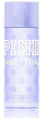 Victoria's Secret Pink Sweet & Flirty Body Mist 8.4 Oz $15.90 thestylecure.com