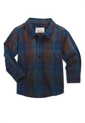 Sovereign Code 'Joy' Dip Dye Woven Shirt (Baby Boys)