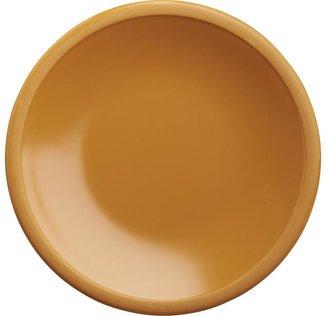 """Crate & Barrel Lunea Melamine Orange 6"""" Appetizer Plate"""