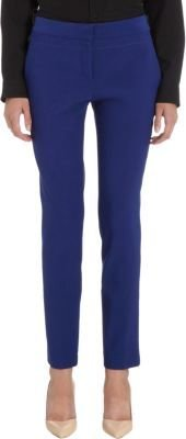 Proenza Schouler Stretch Wool Flat-Front Trousers