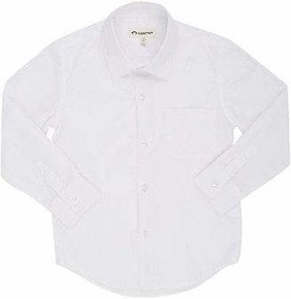 Appaman Kids' Poplin Dress Shirt - White