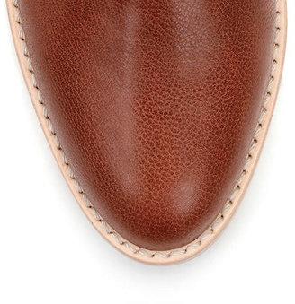 Loeffler Randall Felix stacked heel bootie