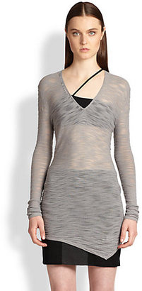 Helmut Lang Slub Pullover Tunic