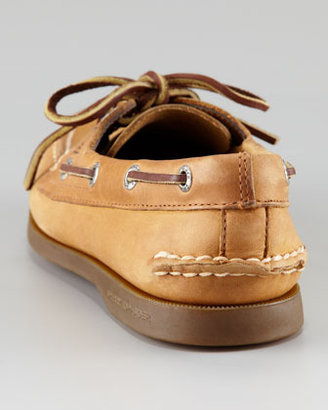 Sperry Authentic Nubuck Boat Shoe