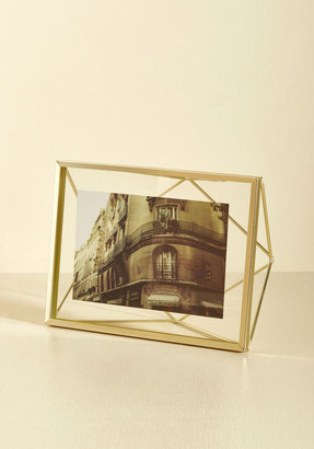Memorable Dimension Single-Photo Frame in Gold $17.99 thestylecure.com