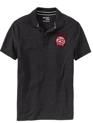 Old Navy Men's Graphic Jersey Polos