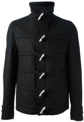 Kris Van Assche toggle coat