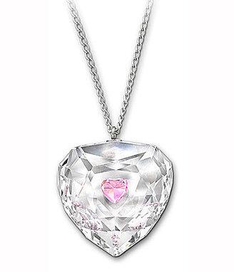 Swarovski Swarovki Truthful Pink Heart Pendant