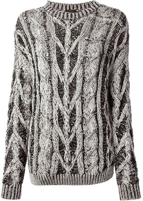 Joseph cable knit sweater