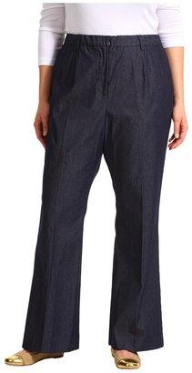 Pendleton Plus Size Work It Denim Pant in Dark Indigo Stretch (Dark Indigo Stretch) - Apparel