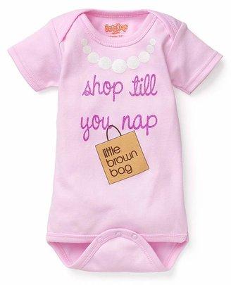 "Bloomingdale's Sara Kety Girls' ""Shop till you Nap"" Bloomie's Bodysuit - Baby"