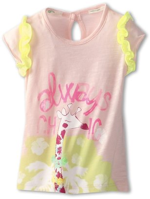 Benetton Kids - Girls' Ily Always Chic Tee (Infant) (White) - Apparel