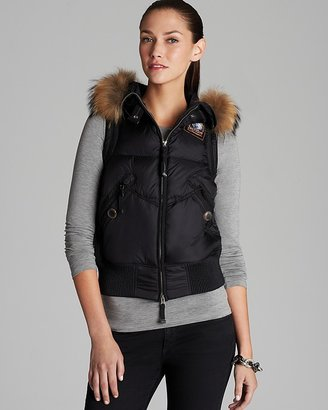 Parajumpers Down Vest - Bear Fur Hood