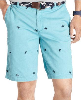 Izod Crab Schiffli Shorts