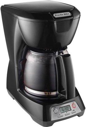 Hamilton Beach Proctor Silex 12-Cup Programmable Coffeemaker in Black