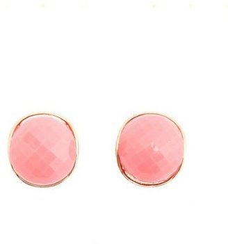 Charlotte Russe Faceted Dome Stud Earrings