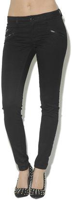 Arden B Triple Zipper Skinny Jean