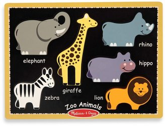 Melissa & Doug Zoo Animals First Chunky Puzzle