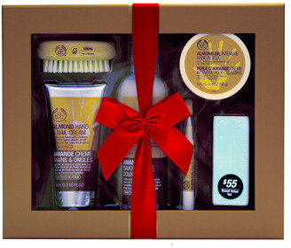 The Body Shop Deluxe Almond Hand Care Gift