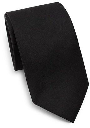 Ike Behar Silk Satin Tie