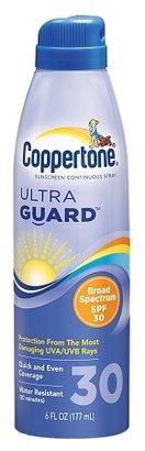 Coppertone Ultra Guard Sunscreen Continuous Spray, SPF 30