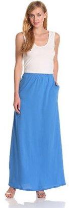 Bobi Women's Maxi Colorblock Dress
